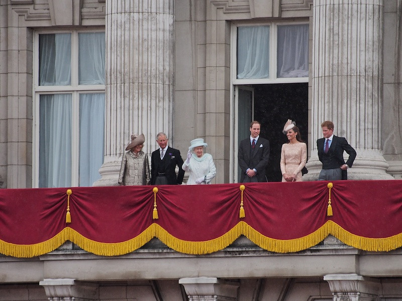 The Balcony I, Buckingham Palace
