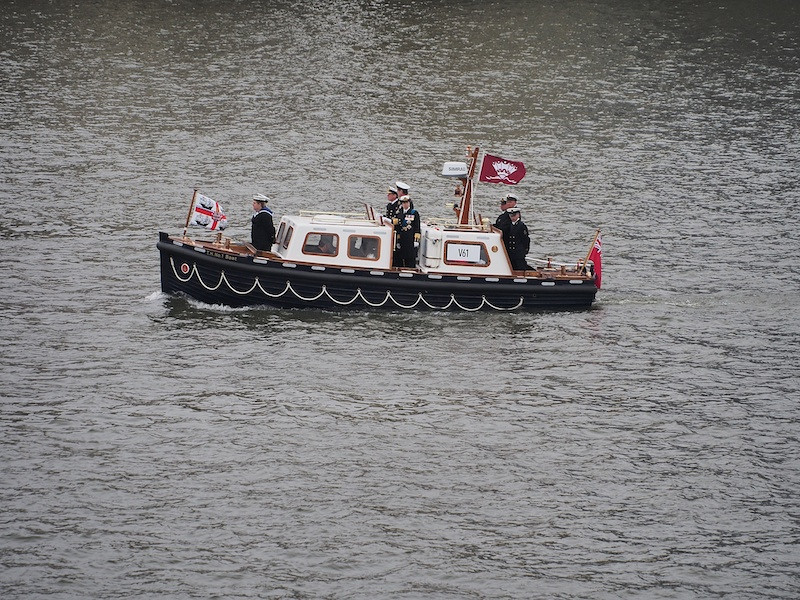 The Princess Royal, Thames River Pageant
