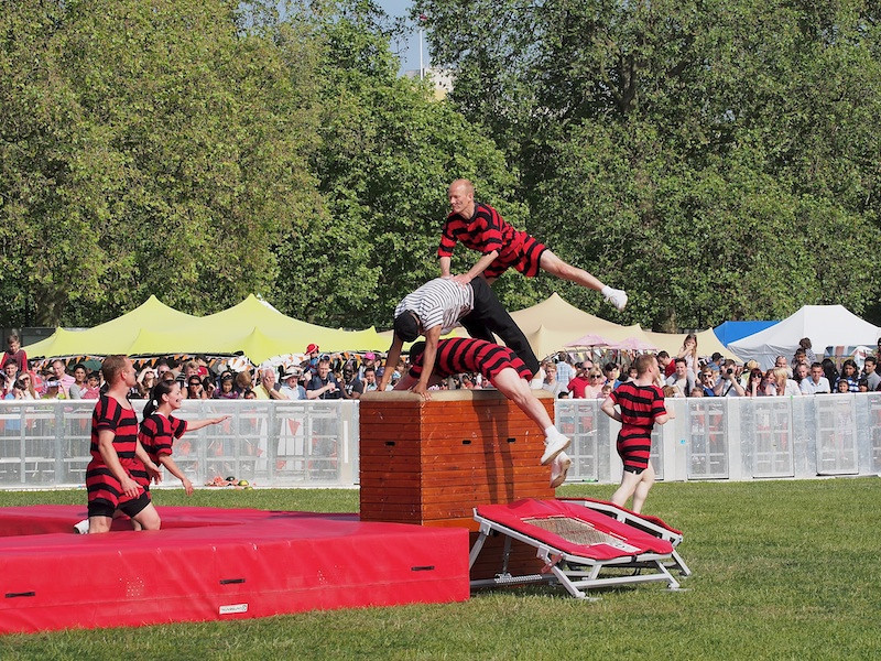 The Edwardian Display Team of the RAPTC, Jubilee Family Day, Hyde Park