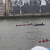 Maori war canoe, Thames River Pageant