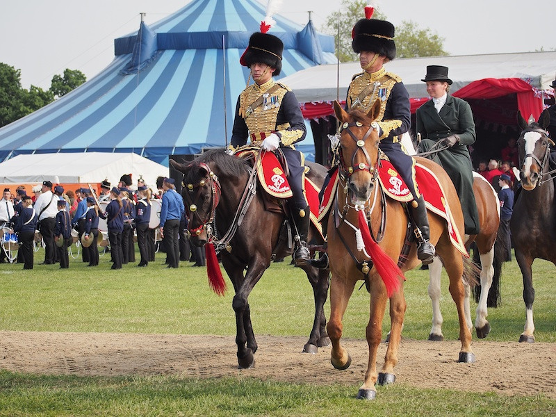 Light Cavalry of the Honourable Artillery Company, Jubilee Family Day, Hyde Park
