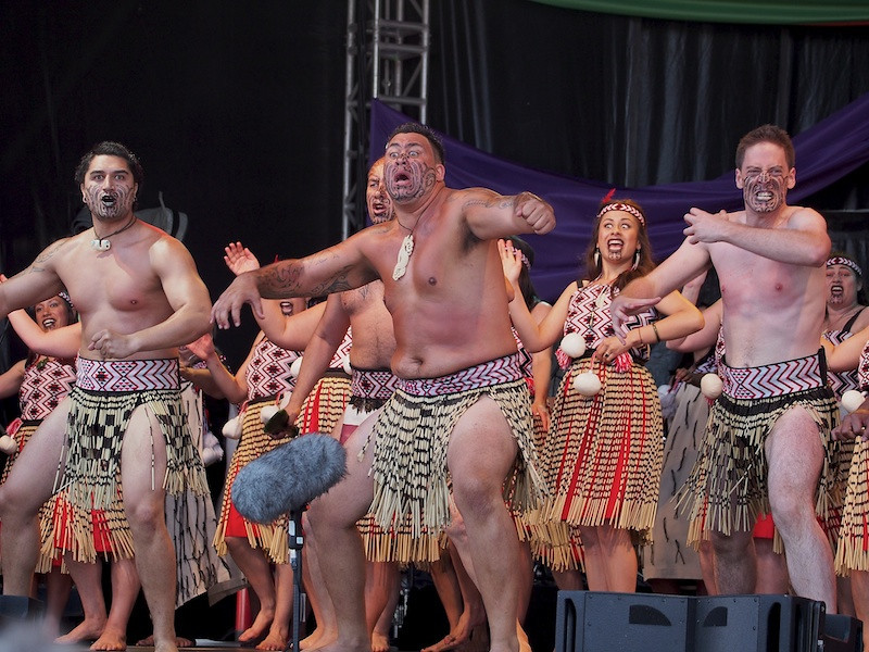 Maori haka, Ngata Ranana, Commonwealth Stage, Jubilee Family Day