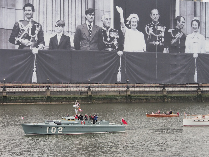 Dunkirk Small Ships, Thames River Pageant
