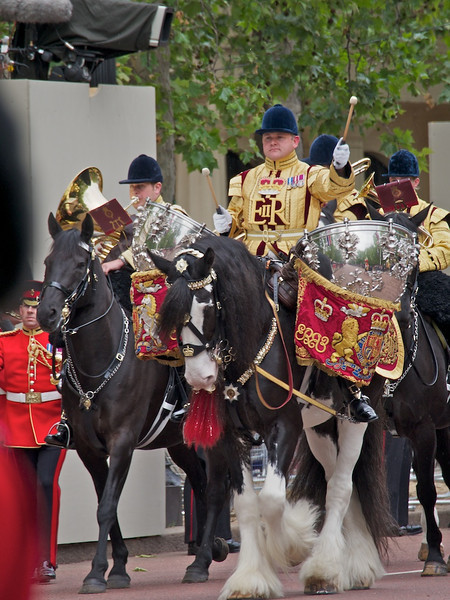 Kettle Drum, Mounted Band of the Household Cavalry, The Mall