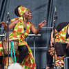 Harambe Female Drummers, Commonwealth Stage, Jubilee Family Day