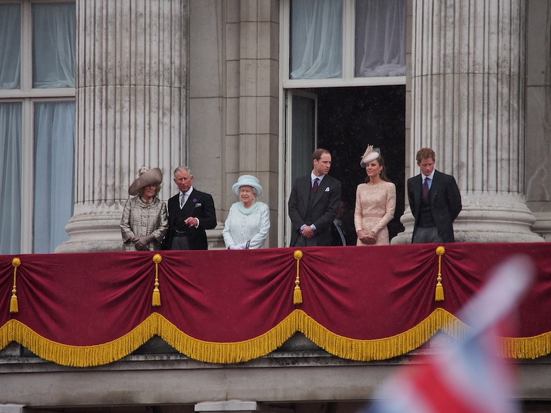 The Balcony II, Buckingham Palace