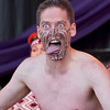 War face, Maori haka, Ngata Ranana, Commonwealth Stage, Jubilee Family Day