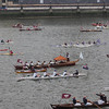 The man-powered section, Thames River Pageant