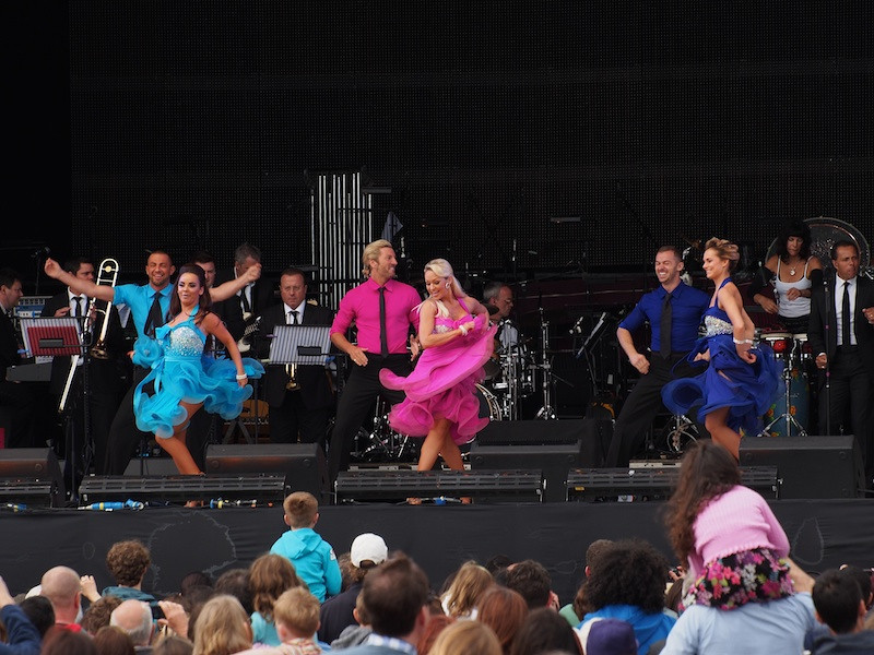 'Strictly Come Dancing' demonstration, Main Stage, Jubilee Family Day