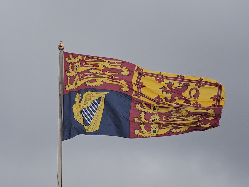 Royal Standard, Buckingham Palace