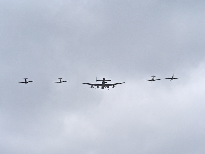 Battle of Britain Flight, over Buckingham Palace