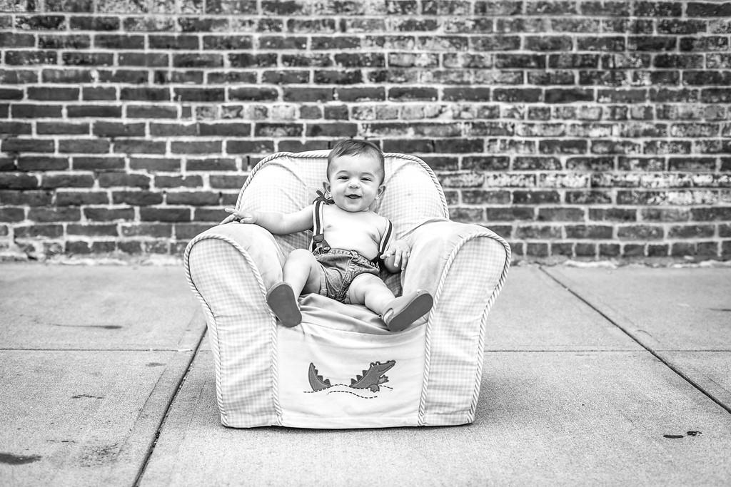 Owen   6 months-23b&w