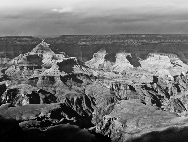 Evening at Grand Canyon from Mather Point