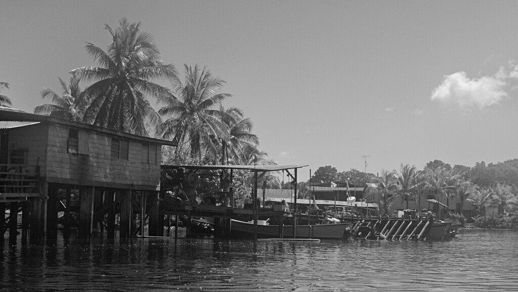 Fishing Village - Belait River, Brunei