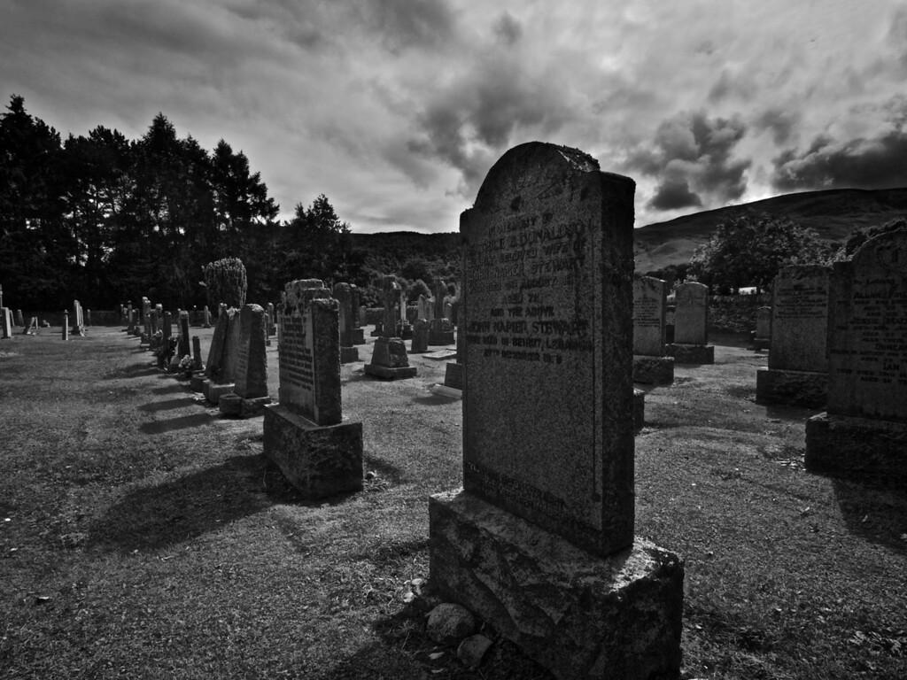 Blair Atholl Graveyard