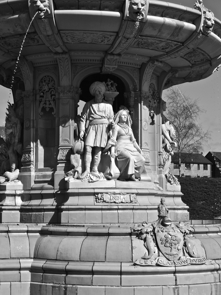 India - Doulton Fountain, Glasgow Green