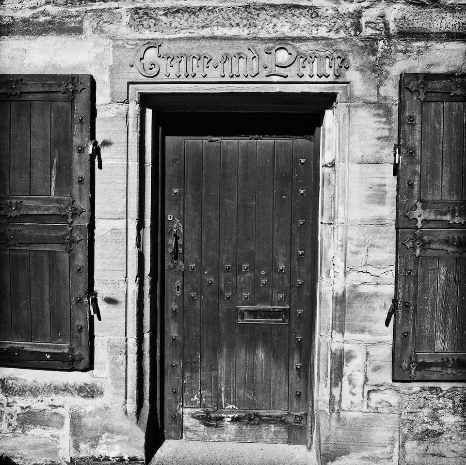 Medieval doorway - Perth