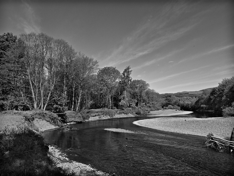 Low water - River Earn