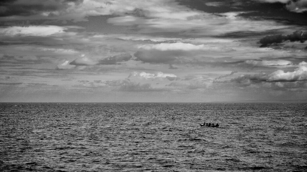 Rowing skiff, off Pittenweem