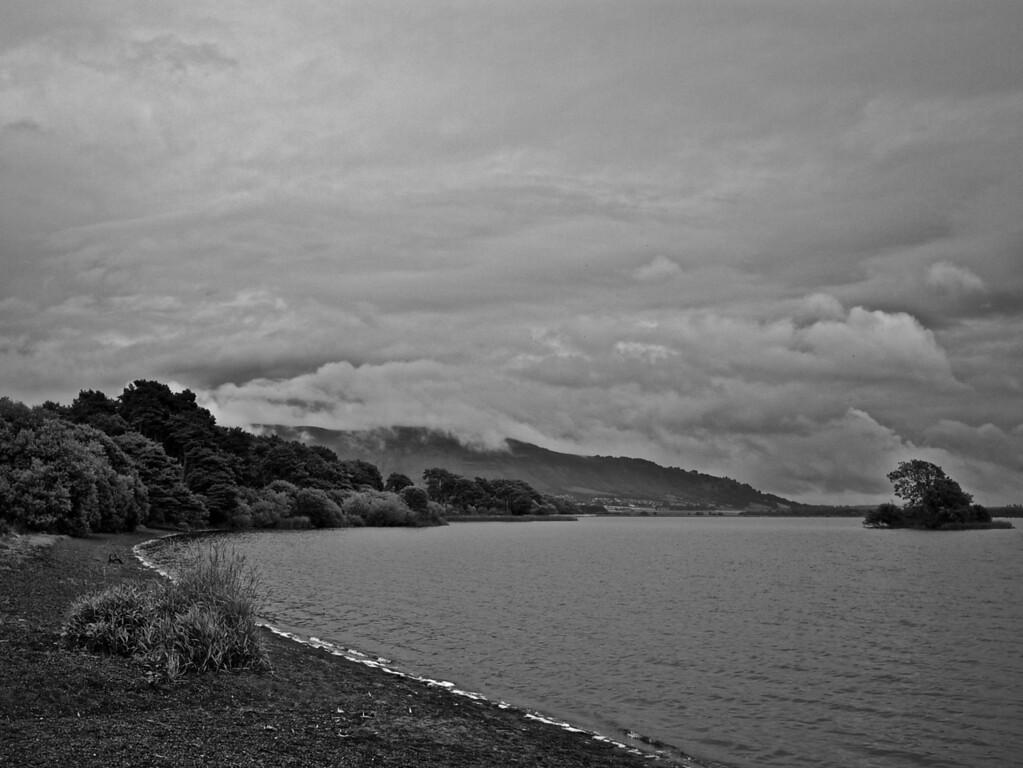 Loch Leven after rain