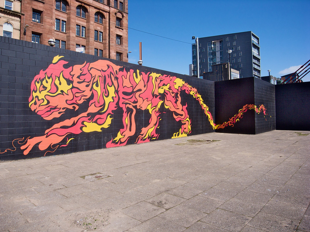 Urban tiger - Glasgow