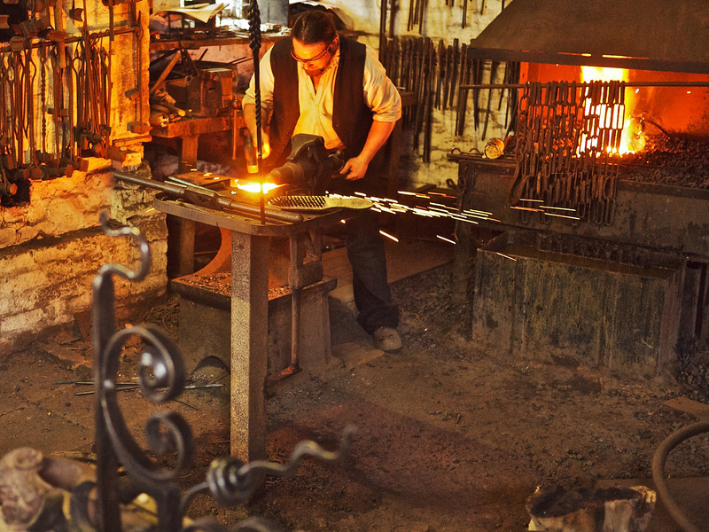 Forge Welding, Blist's HIll