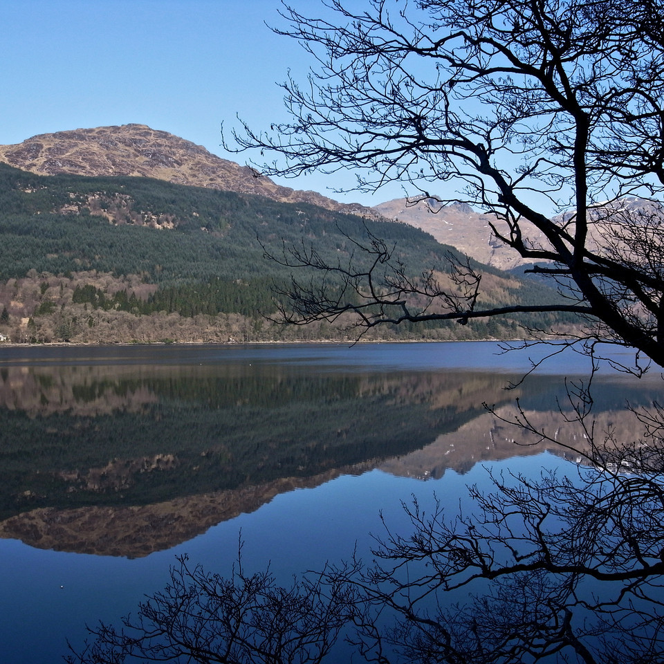 Loch Long spring morning
