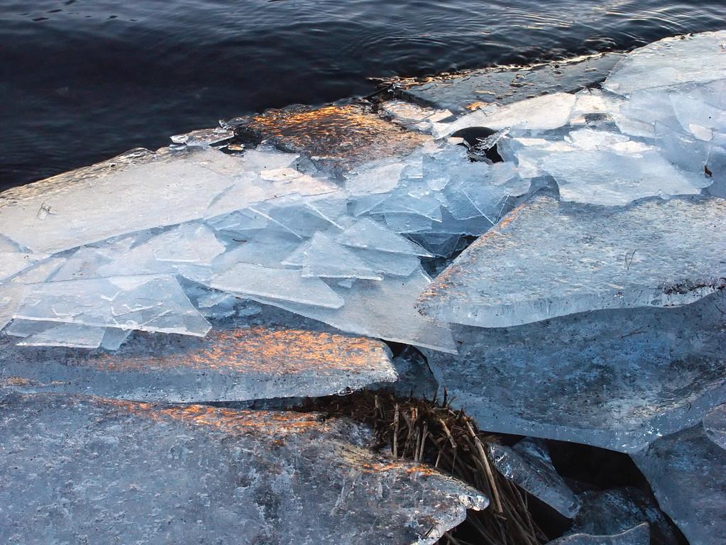 Icy Margin, Loch Leven