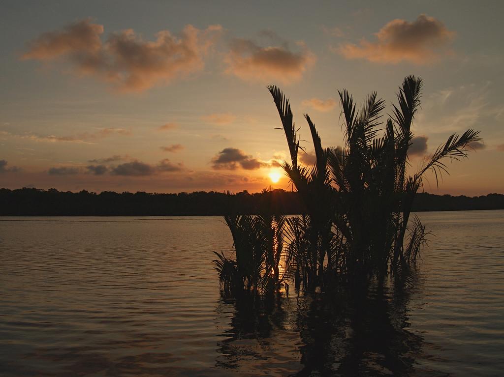 Belait River Sunset 1