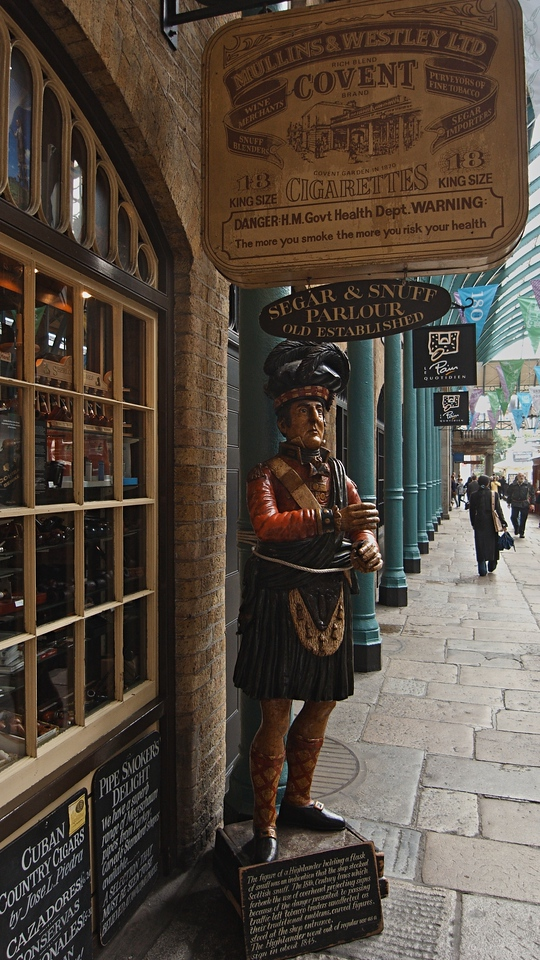 A Scotsman in Covent Garden