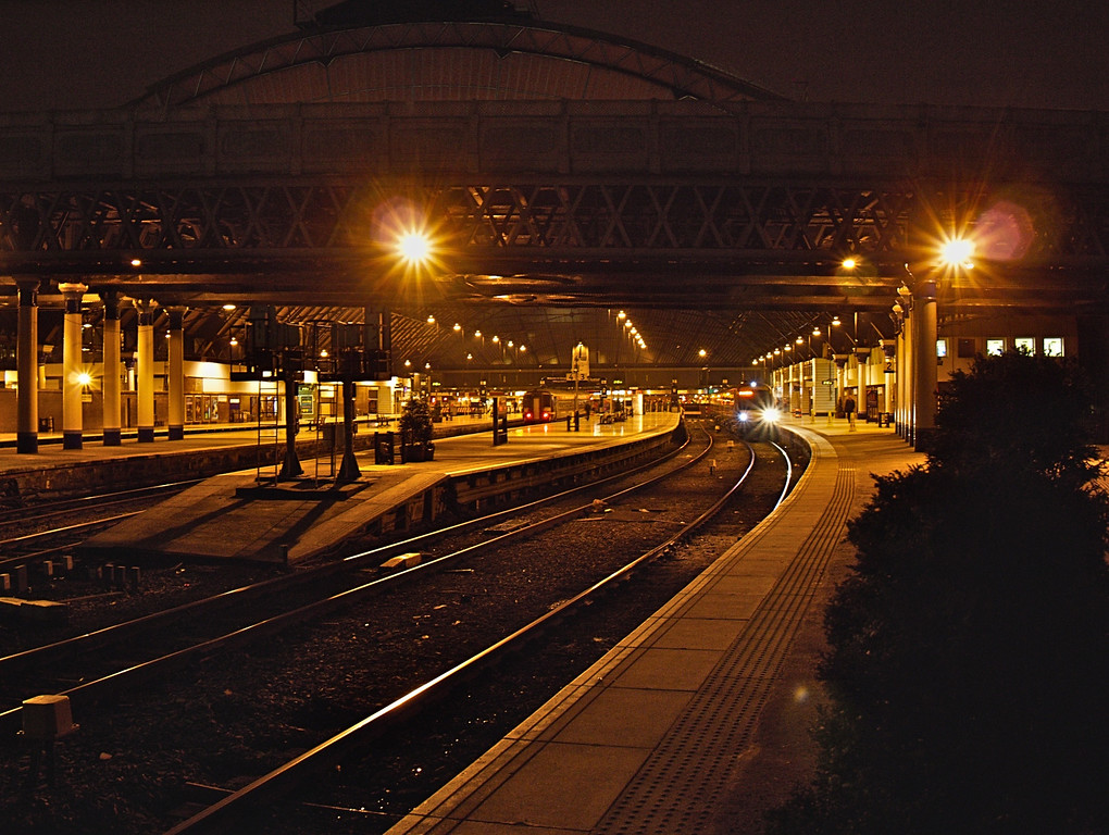 End of the line - Queen Street Station, Glasgow