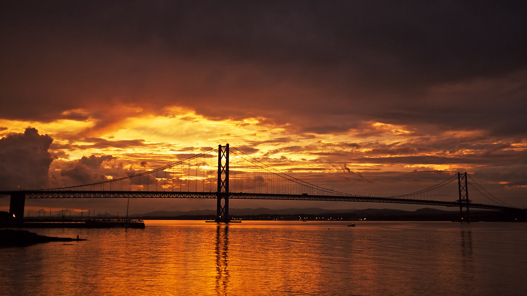 Forth sunset