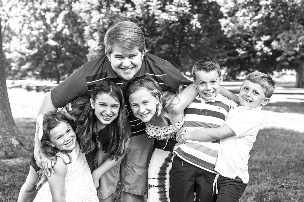 Parker family-25b&w