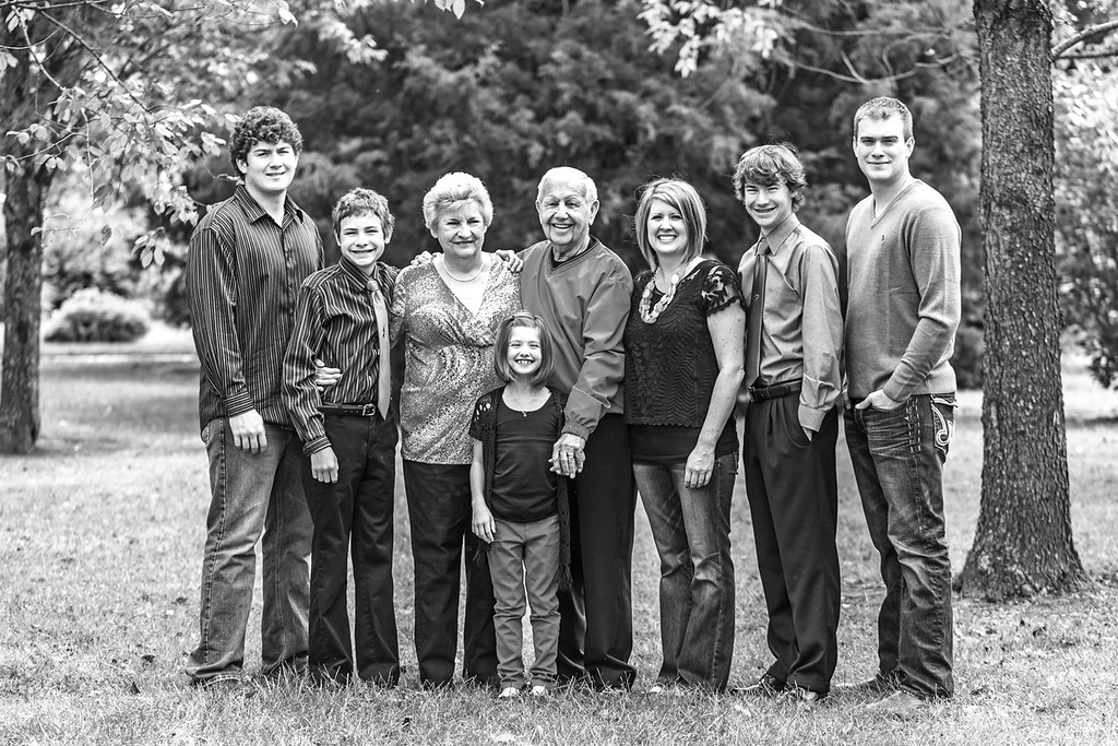 Reed Family 2014-37b&w