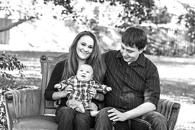 Semple Family 2013-6b&w