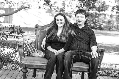Semple Family 2013-9b&w