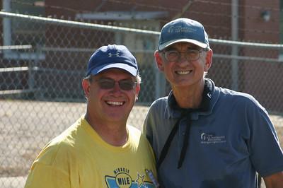 Jeff Cardwell and Millard Fuller