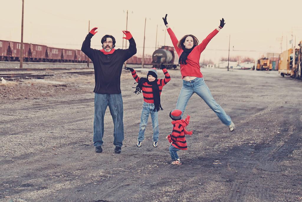 Teague Family 2012-28b&w