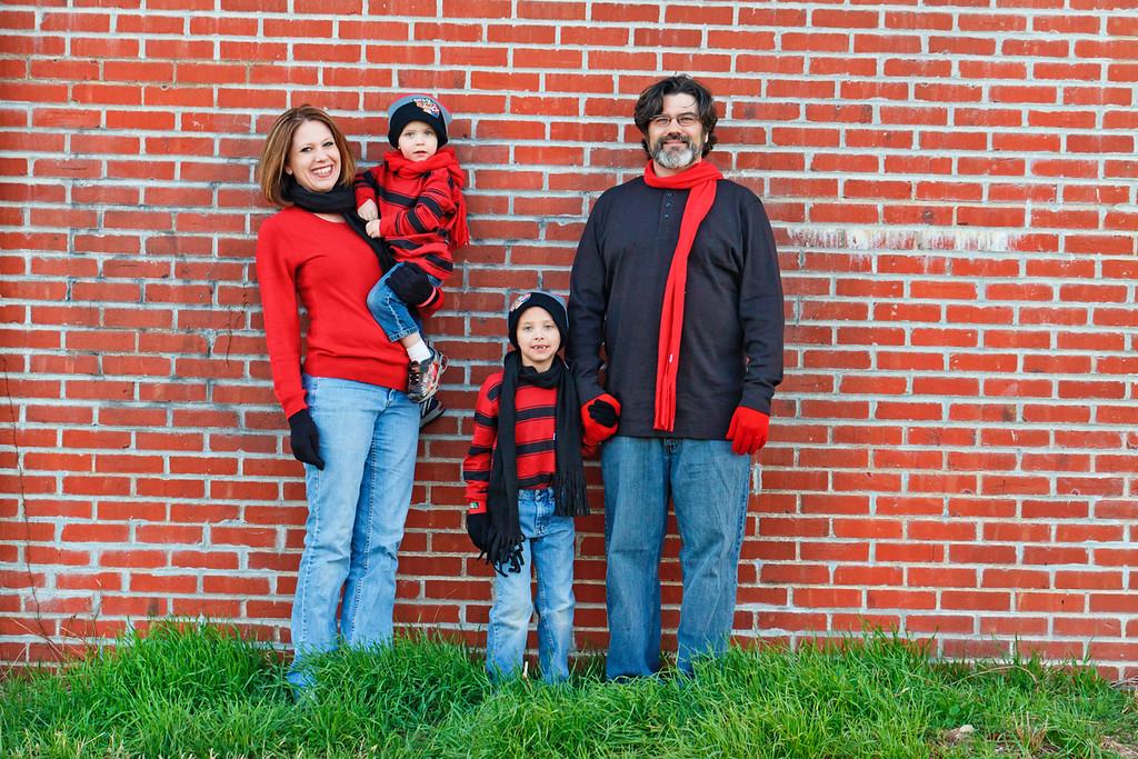 Teague Family 2012-2