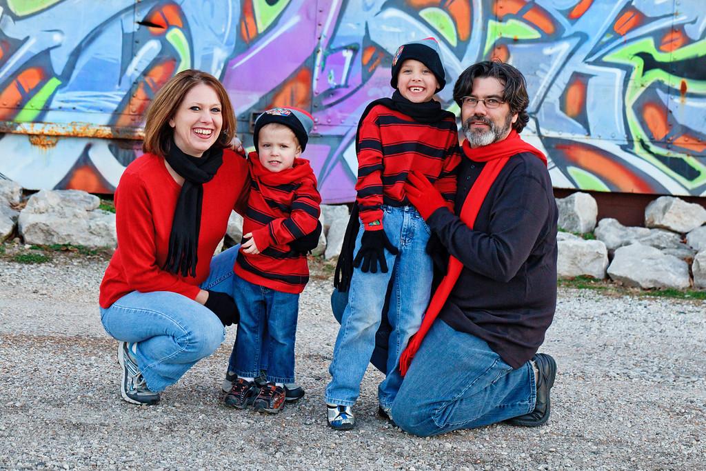 Teague Family 2012-20