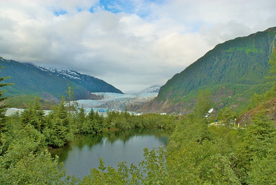The Mendenhall glacier. Apparently most everything in Juneau is named for Mr. Mendenhall.