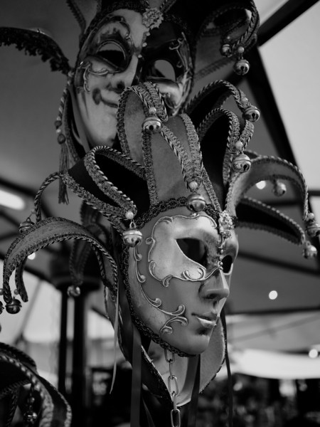 Masks in B&W
