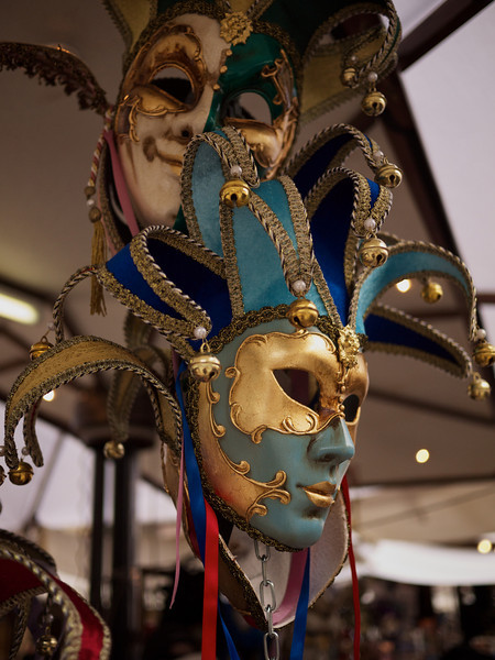 Masks in colour