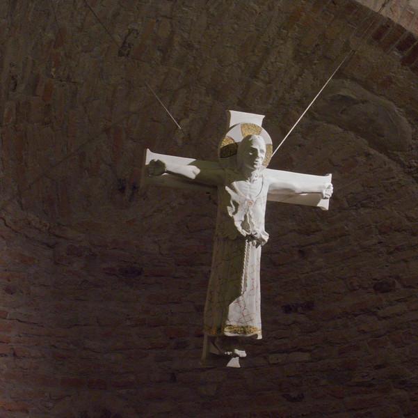 Crucifix, Rotonda di S Lorenzo, Mantua (Mantova) - colour