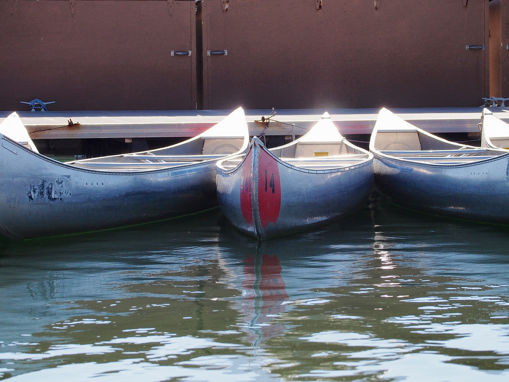 Hire Canoes, Colter Bay, Grand Teton NP
