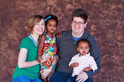 Wright Family 2012