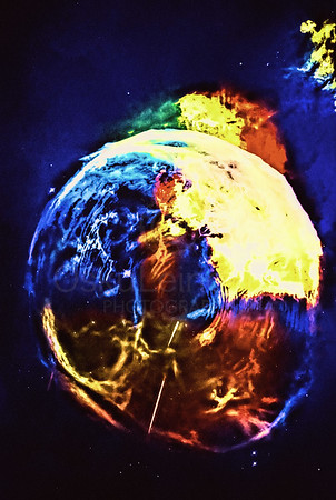 New Planet Rising (Face like Continents)