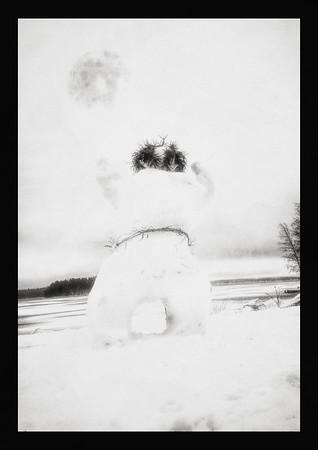 Snowman (Sinking Qi) BW