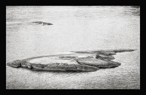 Shifted Island (Just Rest) BW