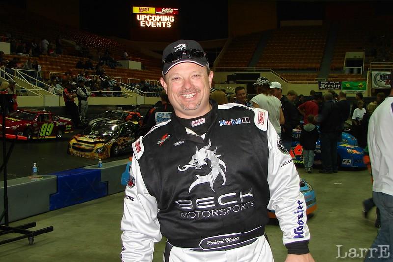 Richard Mickles drives the Beck Motorsports #44.